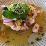 Salduna Beach King prawns ceviche